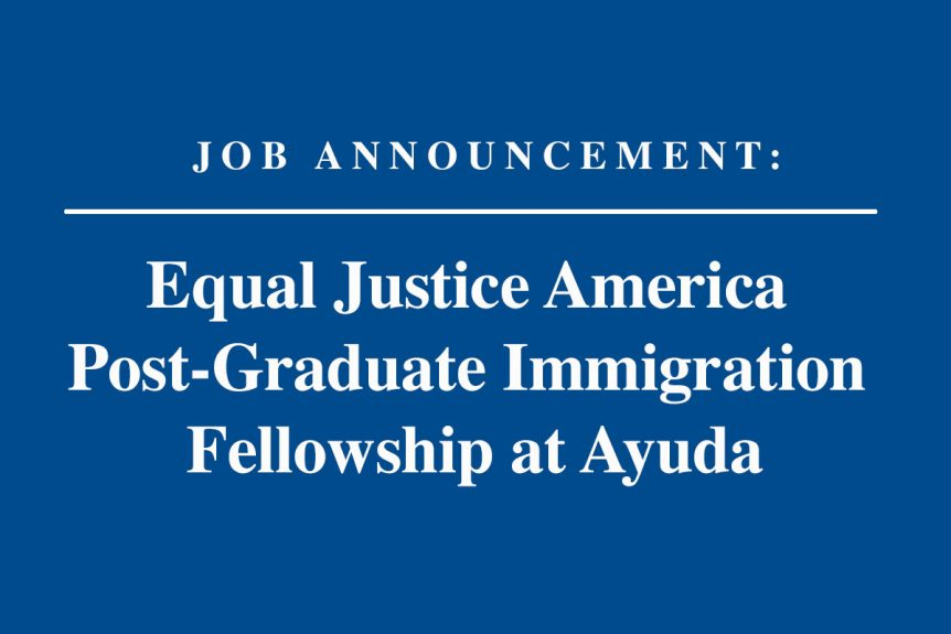Ayuda-Job-Announcement